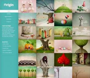 1.  Origin Responsive WordPress Theme