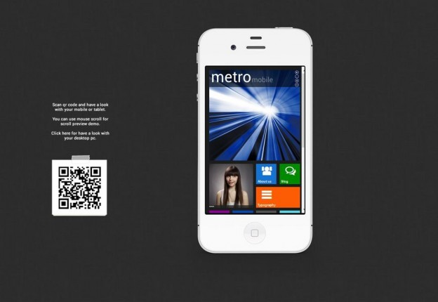 10. The Metro Mobile Theme