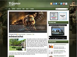 2. PcGames WordPress Theme