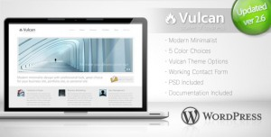 2. Vulcan WP Theme