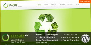 3. EcoBiz WP Theme