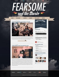 3. Indie Fest WordPress Theme