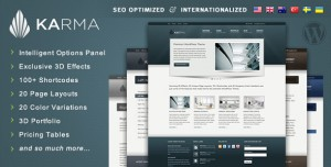 6. Karma WP Theme
