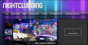 6. NightClubbing WordPress Theme