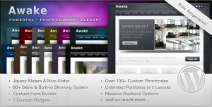 7. Awake WP Theme