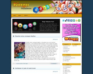 8. Bingo WordPress Theme