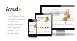 9. Avada Responsive Multi-Purpose Theme