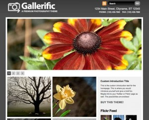 Gallerific – Photography WordPress Theme