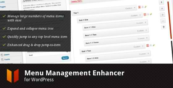 10 Menu Management Enhancer