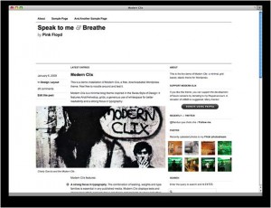 2 Modern Clix WordPress Minimal Theme