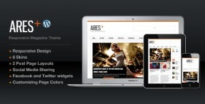 6 Ares WordPress Minimal Theme