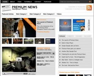 8 News WordPress Theme