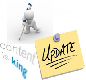 Content - Update your website content regularly - SEO Tips - Con