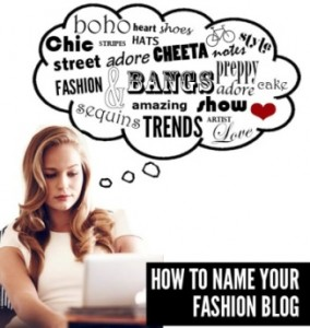 2 Fashion Blog Name Generator