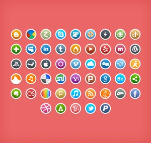 5 Small rounded icons from DeviantArt