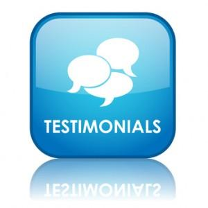 5.Write testimonials about other sites.