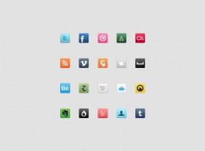 7 Social Media Set