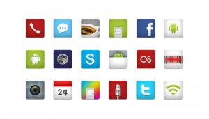 8 Social Media Icons by iDroid
