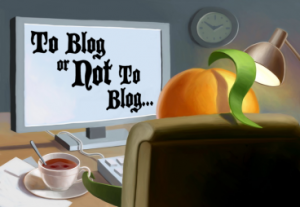 10 Your ability to blog