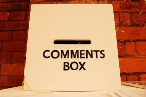 4. Put A Comment Box