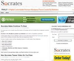 1. Socrates WordPress Theme