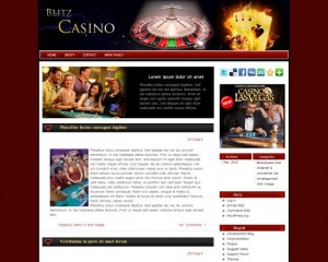 10. Blitz Casino WordPress Theme