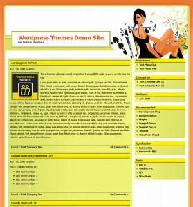 10. Online Casino Template 56 WordPress Theme