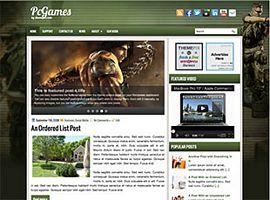 2. PcGames WordPress Theme