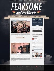 3. Indie Fest WordPress Theme