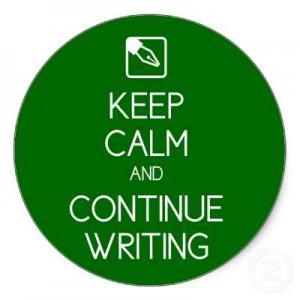 3. Keep Writing
