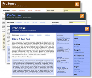 4. ProSense WordPress Theme