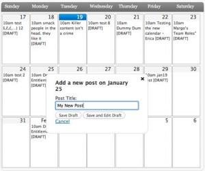 5. Editorial Calendar Plugin Scheduling All Your Editing Jobs