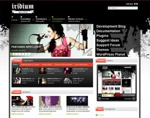 8. Iridium WordPress Theme