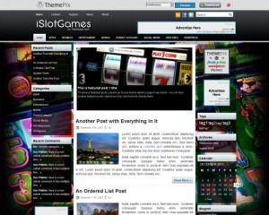 9. iSlotGames WordPress Theme