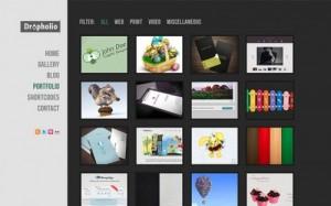 Dropholio – Creative WordPress Portfolio and Blog