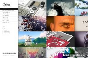 Elastico – Responsive Fullscreen Portfolio WP Theme