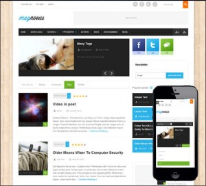 Magnovous-Magazine and News WordPress Theme