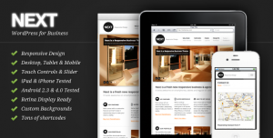 Next – Responsive Business WordPress Theme
