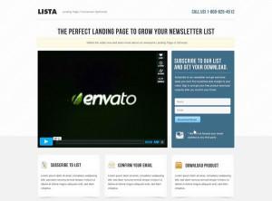 1. Lista Landing Page