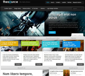 1.The Source Theme