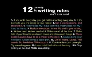 10 Read about writing