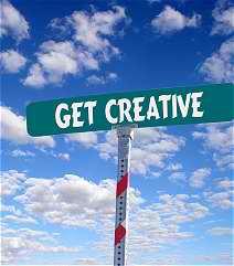 4 Be creative