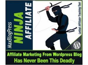 4.MaxBlog Press Affiliate Ninja