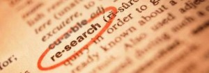 9. Take the time to research