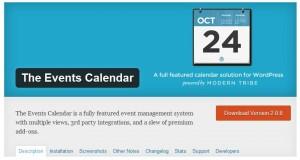 4. The Events Calendar