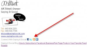 10 Add you blog URL to your e-mail signature