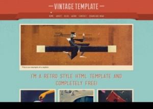 10 Vintage Template