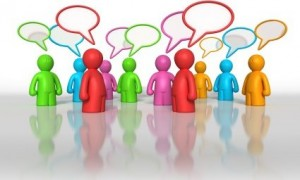4 Join online discussions regularly